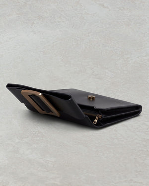 BUCKLE TRAVEL CASE BLACK