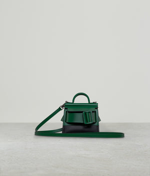 KARL SURREAL TWO-TONE BOTTLE GREEN / BLACK