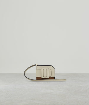 BUCKLE CARD HOLDER (WITH STRAP) TWO-TONE