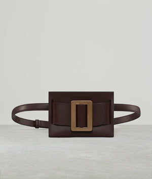 BUCKLE BELT BAG BORDEAUX