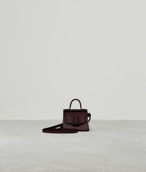 KARL CHARM WITH STRAP BORDEAUX