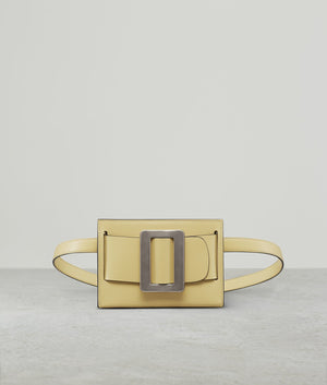 BUCKLE BELT BAG (SILVER BUCKLE) POLENTA