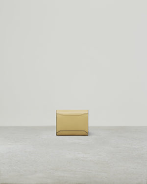 BUCKLE SQUARE WALLET POLENTA