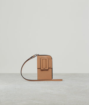 BUCKLE CROSS BODY PHONE CASE GINGER