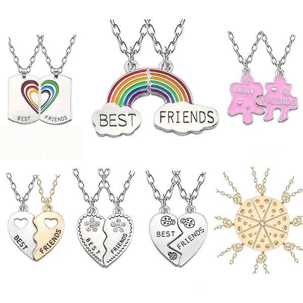 A variety Best Friends Pendants
