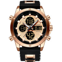 Luxury Chronograph Gold Men Watch