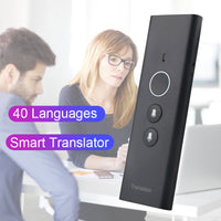 Online Translator Portable Traductor 40 Languages Voice Travel Two-way Instant smart translator