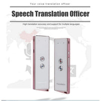 Smart Translator For Bluetooth Portable Real-Time Intelligent Multi-Language