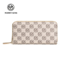 MARRY KORS Women Leather Zipper Wallet