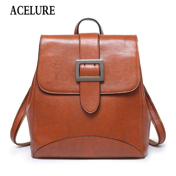 Backpacks Bags PU Leather