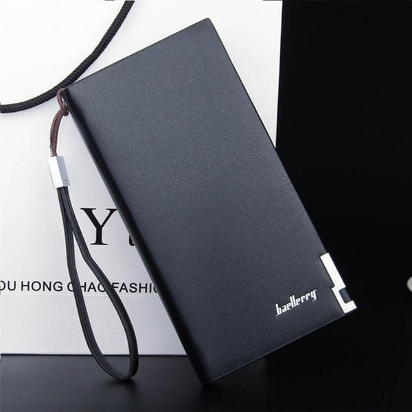 Men Wallets Classic Long Style Card Holder