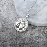 The tree of LIFE, Crystal Round Small Necklace