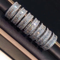 925 SILVER ETERNITY BAND