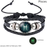 Contour's Luminous Zodiac Bracelet for Men