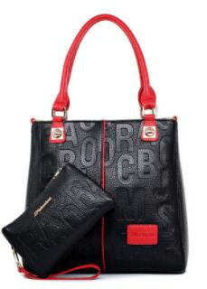 Shoulder Leather Large Tote