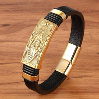 Multiple Styles Men Bracelet Animal Pattern