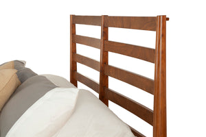 Flynn Retro Bed, Acorn