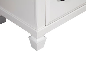 Winchester 7 Drawer Dresser, White