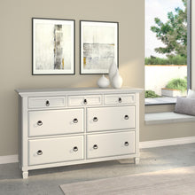Load image into Gallery viewer, Winchester 7 Drawer Dresser, White