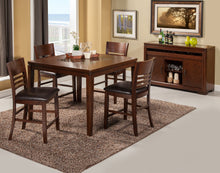 Load image into Gallery viewer, Granada Pub Table, Brown Merlot