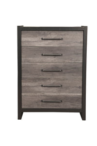Monarch Chest, Grey/Black