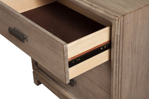Camilla Nightstand, Antique Grey