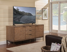 Load image into Gallery viewer, Brown Pearl TV Console, Brow/Bronze