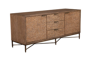 Brown Pearl TV Console, Brow/Bronze