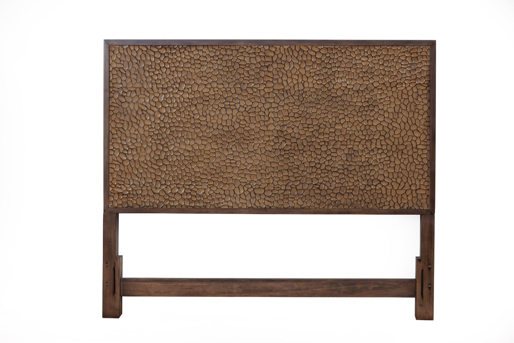 Brown Pearl Headboard, Brown Bronze