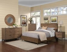 Load image into Gallery viewer, Brown Pearl Platform Bed, Brown Bronze