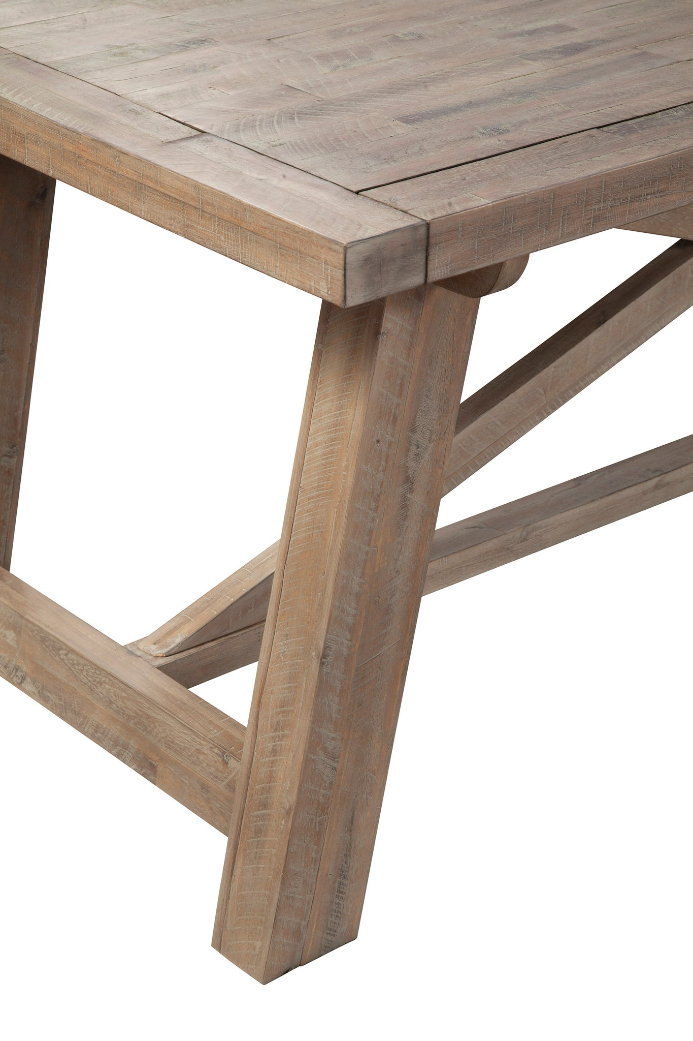 Newberry Dining Table Weathered Natural Alpine Furniture