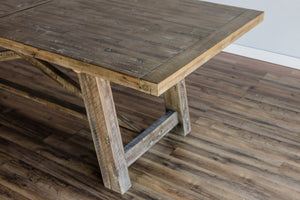Newberry Dining Table (Weathered Natural)