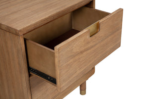 Easton Two Drawer Nightstand