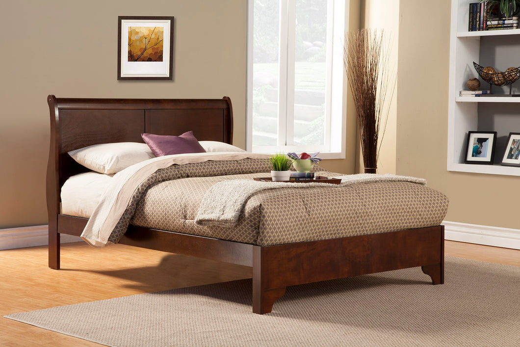 West Haven Bed, Cappuccino