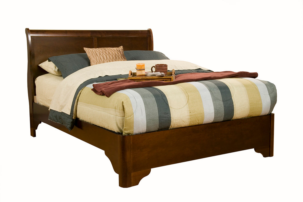 Chesapeake Sleigh Bed, Cappuccino