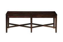Load image into Gallery viewer, Rustica Dining Bench, Dark Espresso