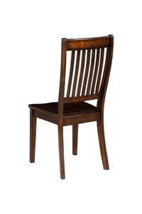 Rustica Side Chairs, Dark Espresso