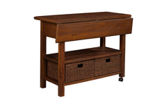 Load image into Gallery viewer, Caldwell Kitchen Cart, Antique Cappuccino
