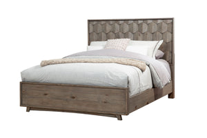 Shimmer Bed, Antique Grey