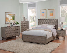 Load image into Gallery viewer, Shimmer Bed, Antique Grey