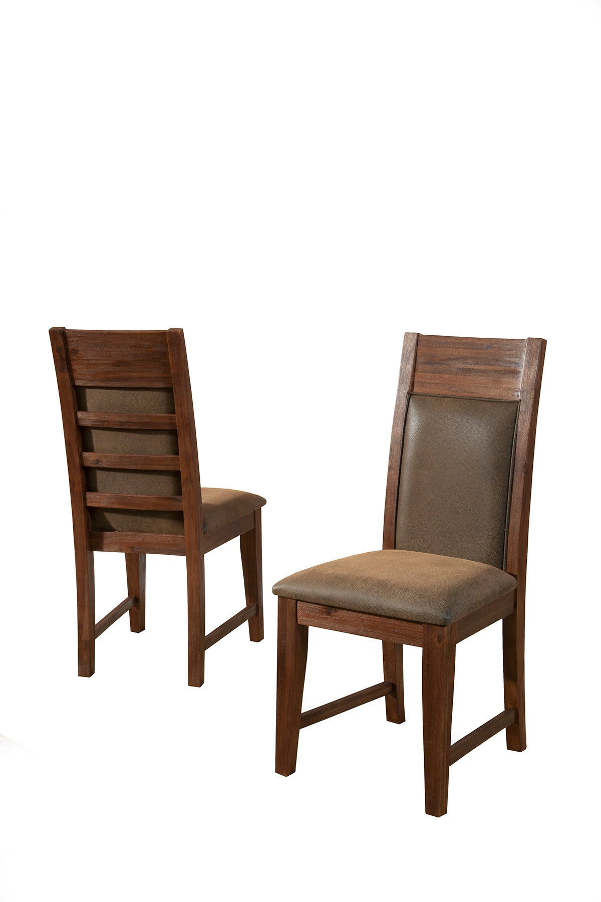 Pierre Side Chairs Antique Cappuccino Alpine Furniture