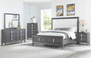 Lorraine Storage Bed, Dark Grey