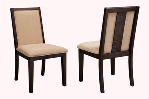 Tucson Side Chairs,, Espresso