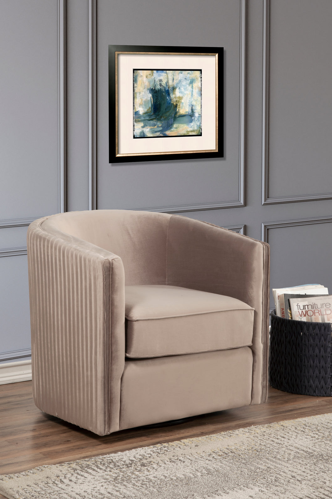 Maison Swivel Chair