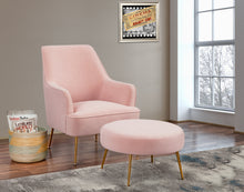 Load image into Gallery viewer, Rebecca Footstool, Pink