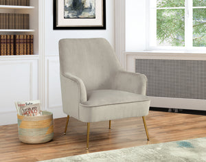 Rebecca Leisure Chair, Grey