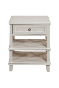 Potter Nightstand, White