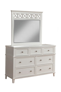 Potter Mirror, White
