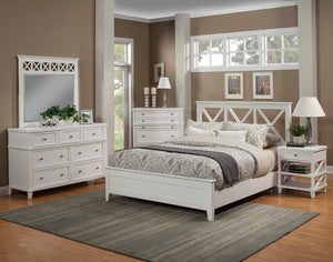 Potter Bed, White