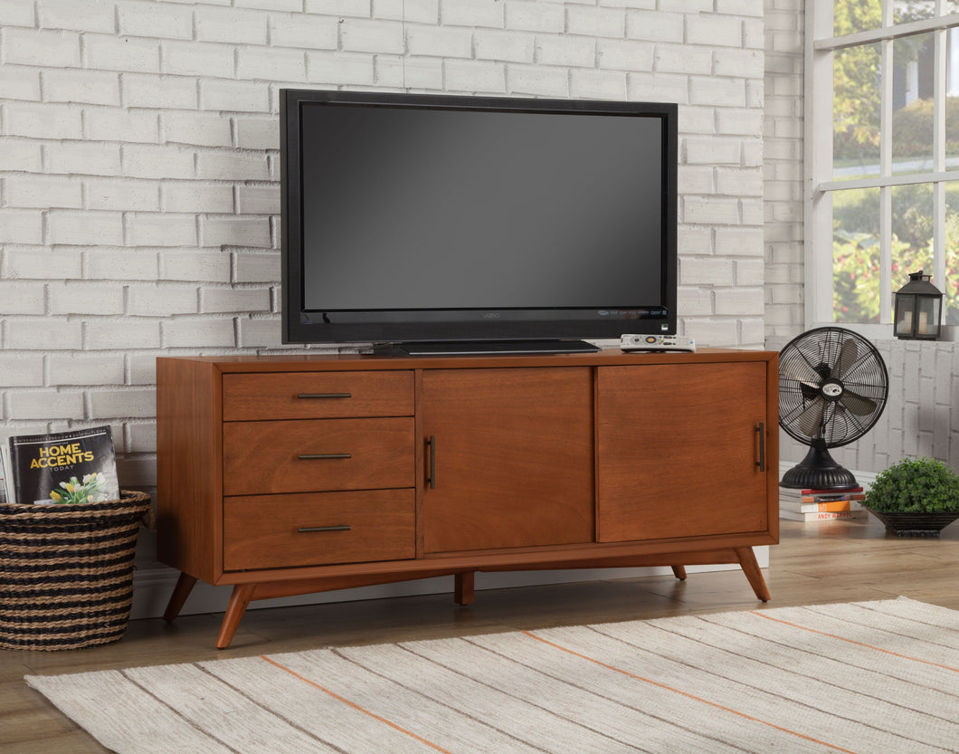 Flynn Large TV Console, Acorn
